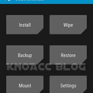 Cara Install TWRP 3.0.2-0 SevenMaxs Lenovo A6000/SE/Plus