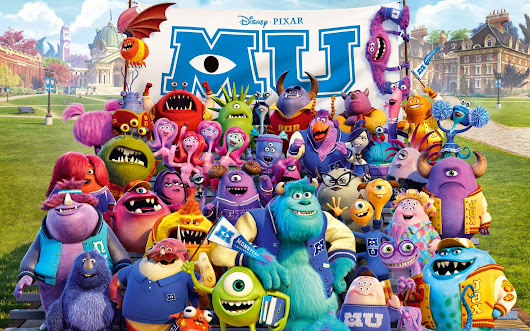 Teaching Children to Never Give Up On Their Dreams [Monsters University]