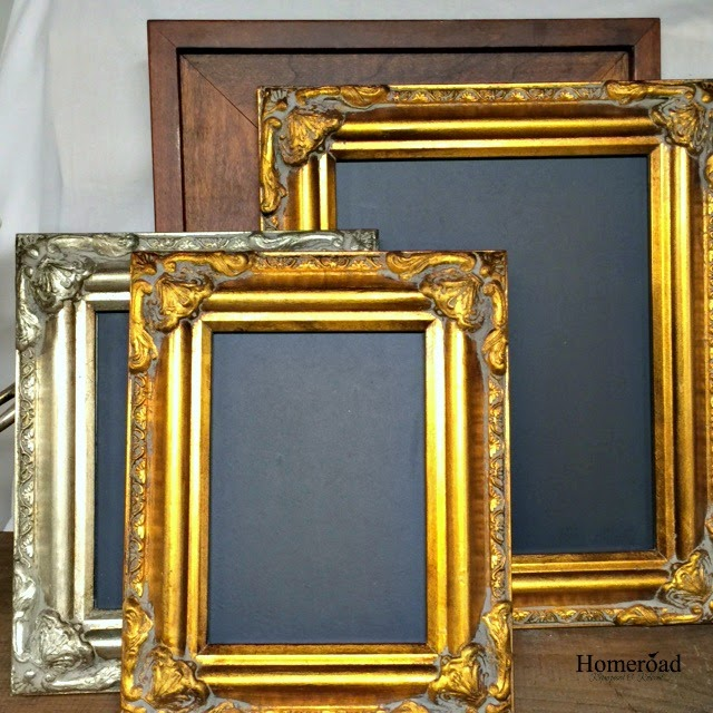 making DIY framed chalkboards using these helpful hints