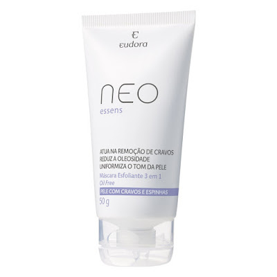Skin care: máscara neo essens Eudora