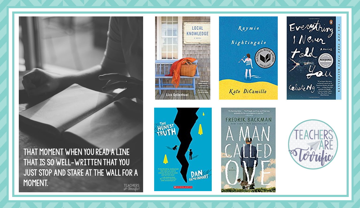 It's June- time for Book Reviews! I loved the last one on this list!