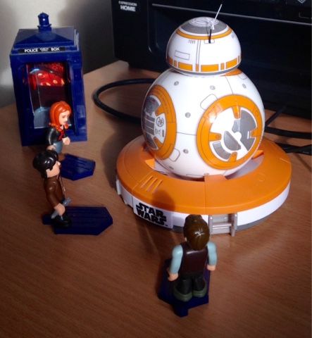 Star Wars Doctor Who Lego