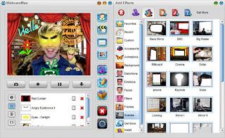 البرنامج الرائع WebcamMax 7.8.3.2 لاضافة اجمل التأثيرات المضحكة على الويب كام