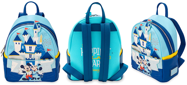 Disneyland Park 65th Anniversary LOUNGEFLY Mini Backpack