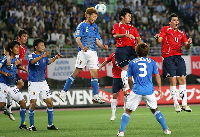 Japón y Chile en Kirin Cup 2009, 27 de mayo