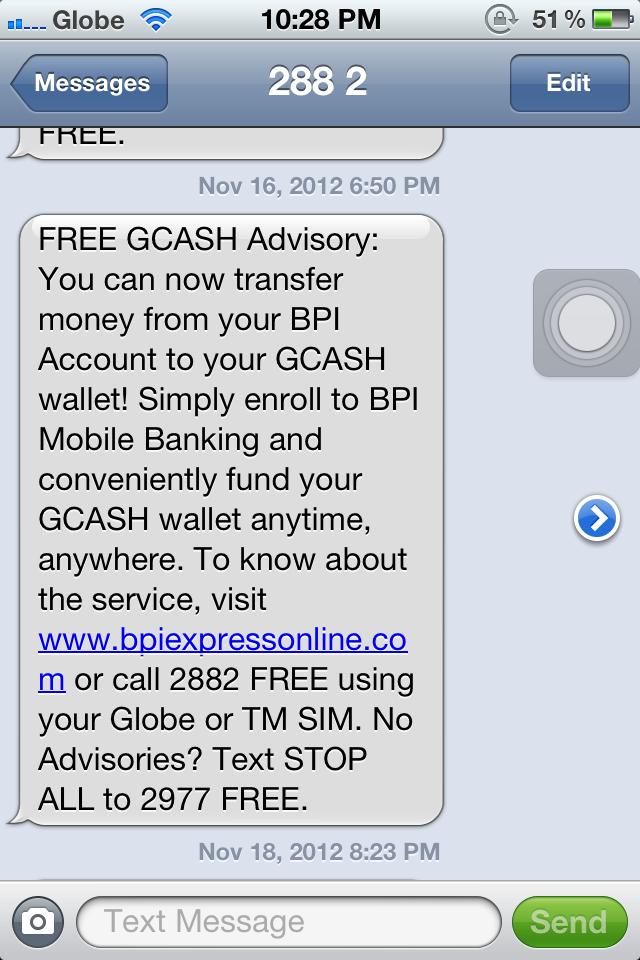 Jen Never Blogs: Good News and Bad News: Globe Gcash and Gcash Amex