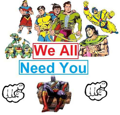 Raj Comics Superheroes Pic