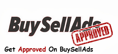 Get your site blog approved in BuySellAds
