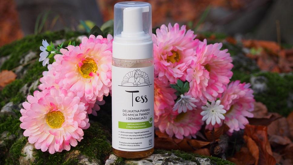 Kosmetyki Tess, pianka do mycia twarzy i demakijażu, pianki do twarzy cena, kosmetyki Tess opinie, Kosmetyki tess cena