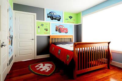 L 39 espace d co une chambre un gar on et des personnages - Decoration chambre petit garcon ...