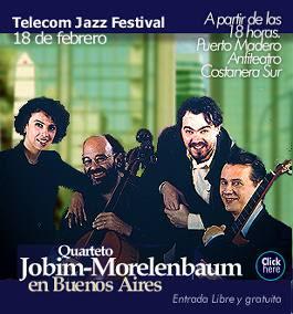 jobim morelenbaum concierto  tomjobim.com.ar