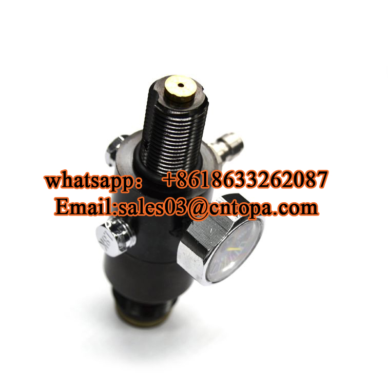 New CO2 gas cylinder 3000psi paintball tank regulator with