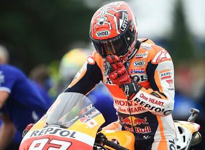 Marquez Sebut Rossi Pura-pura Menyerah Kejar Gelar