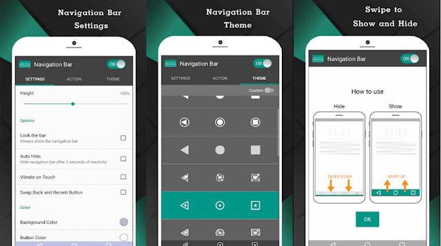 حل مشكلة زر الهوم المعطل عبر تطبيق navigation bar apk