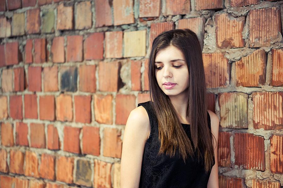Sesja zdjęciowa kobieca, Lublin. Centrum Spotkania Kultur.