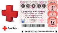 Sorteo especial de la loteria nacional de la cruz roja