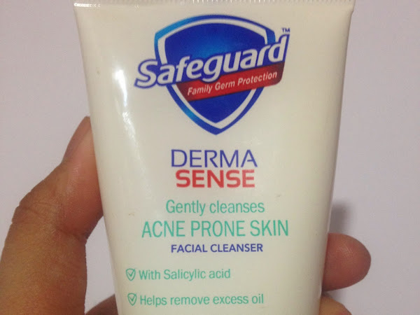 Safeguard Derma Sense Facial Wash Review