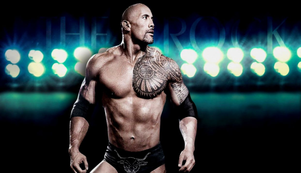 WWE The Rock HD Wallpaper Images One Pictures