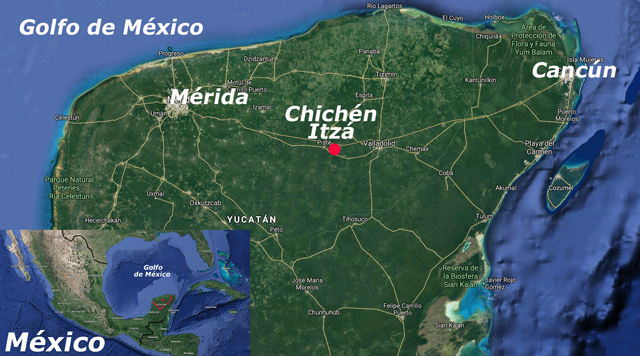 Chichén Itzá, en Yucatán
