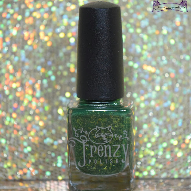 Frenzy Polish Autumn Comes With Wind & Gold