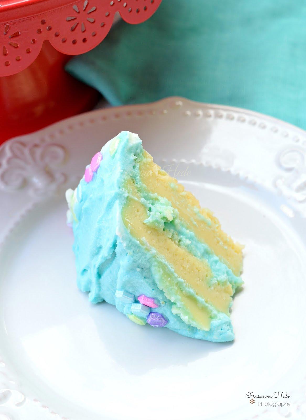 Chiffon Cake Mixing Method