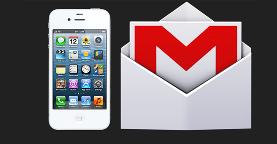 Cara membuat email Gmail iPhone 4