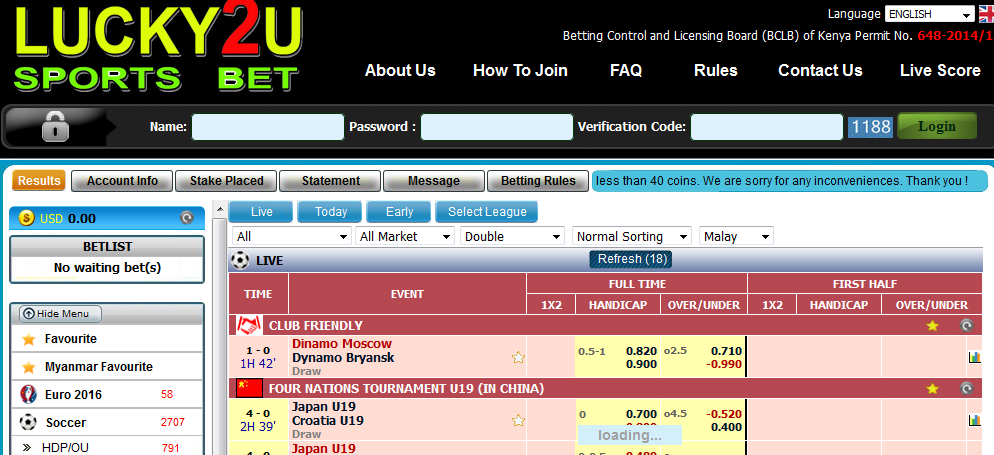 Top 20 sports betting sites