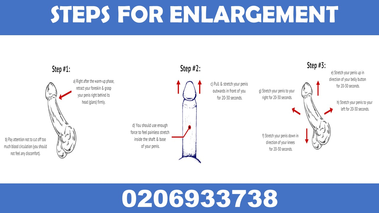 Enlargement free natural penis technique