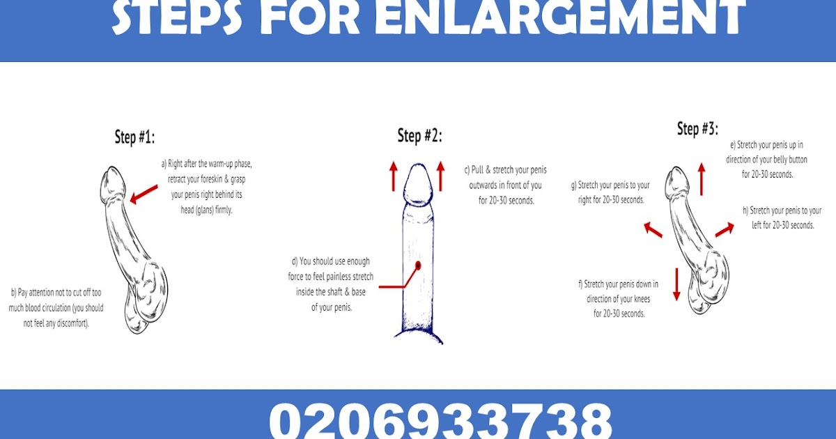 Natural Penis Enlargement Exercises You Have to Try Right
