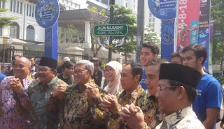Kota Bandung Resmi Punya Tiga Nama Jalan Baru Pengganti Jalan Gasibu, Cimandiri, Pusdai