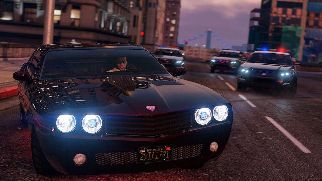 GTA 5 Poursuite Police - Fond d'écran en Ultra HD 4K