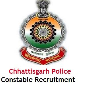 Chhattisgarh Police Constable Recruitment 2018