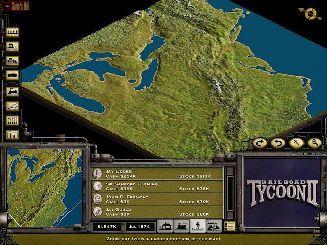 Railroad Tycoon 2 Setup