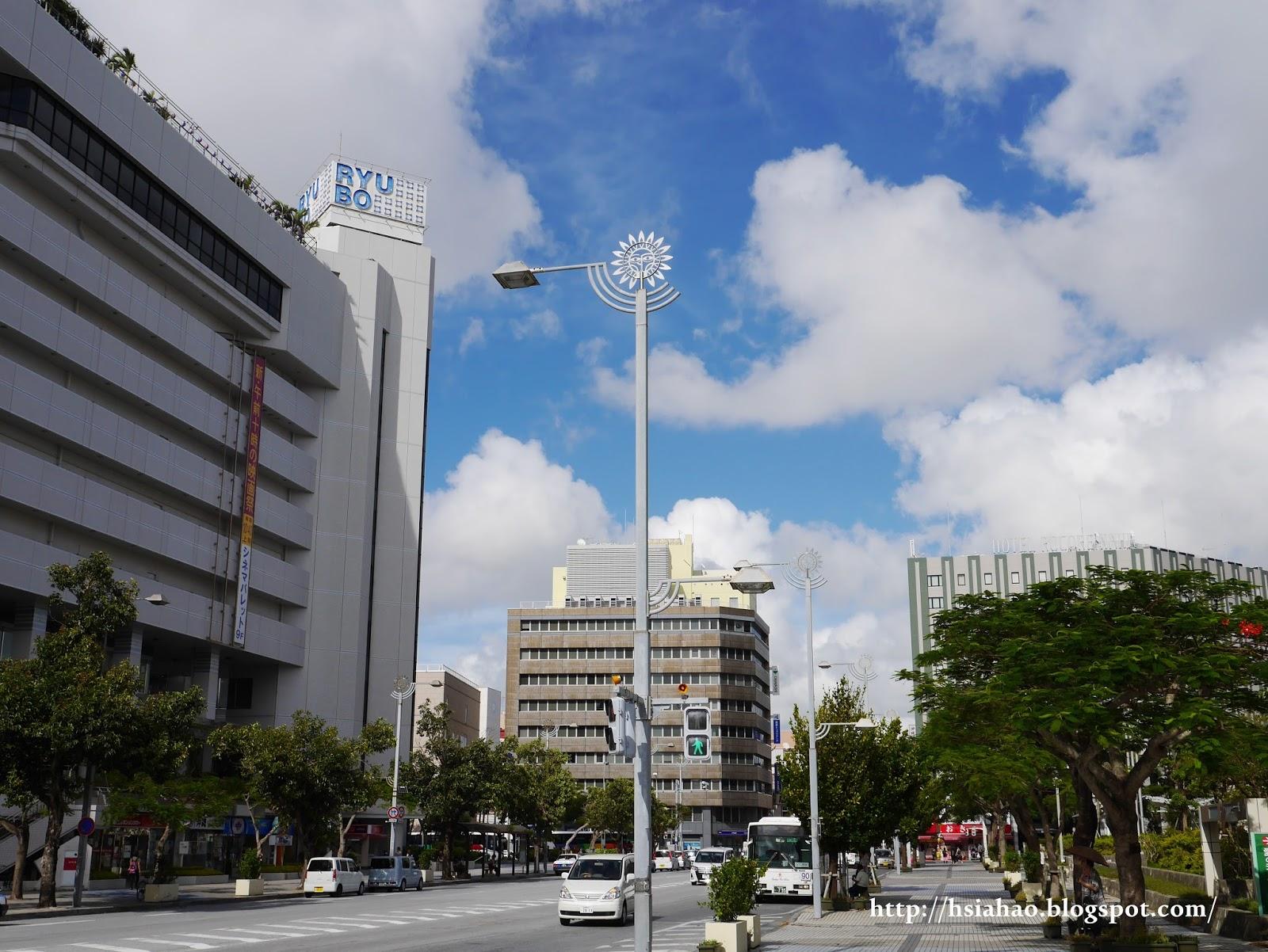 沖繩-縣廳前-ryubo-國際通-逛街-購物-景點-自由行-Okinawa-kokusaidori