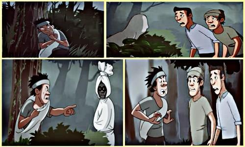 Cerita Misteri Pocong Menangkap Maling