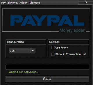 Paypal Code Generator 2016
