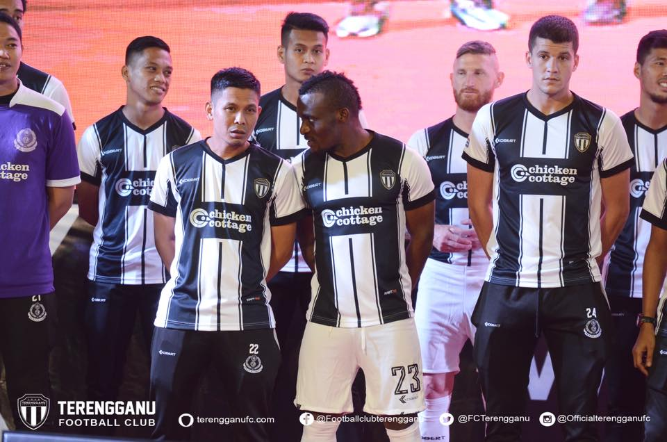 Terengganu FC Kits 2018 -  Dream League Soccer Kits