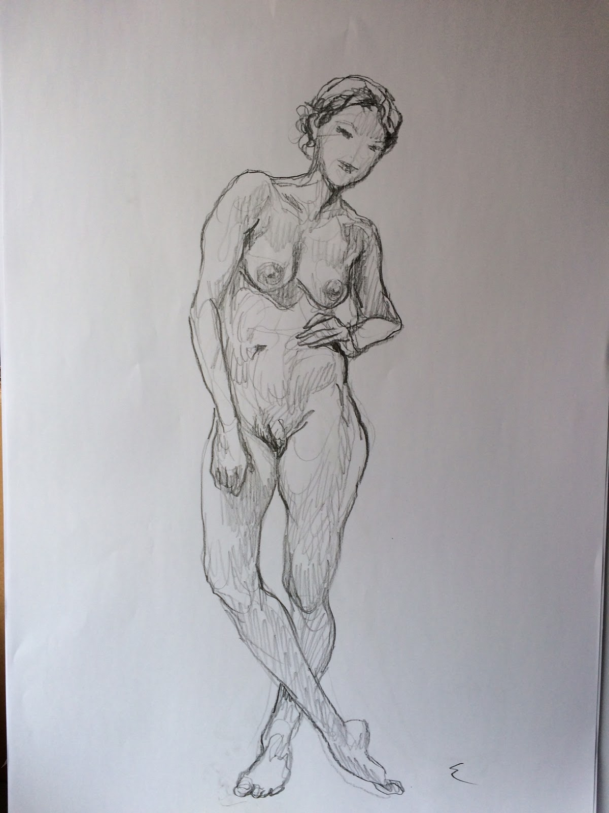 How do you draw naked pictures