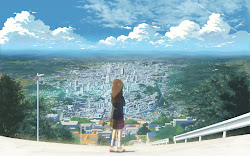 anime background wallpapers scenery animation japan sky japanese backgrounds computer cities 終わり 画像 3d cityscape desktop brown concept hair abyss