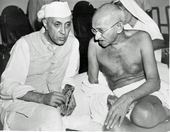 gandhi and nehru relationship with
