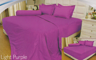 sprei Internal Vallery Light Purple