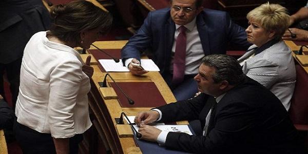 Σκοπιανή… τρικυμία στις κοινοβουλευτικές ομάδες