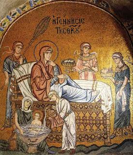 Η Γέννηση της Θεοτόκου Ι. Μ. Δαφνίου