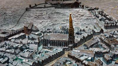 Landshut Relief Map