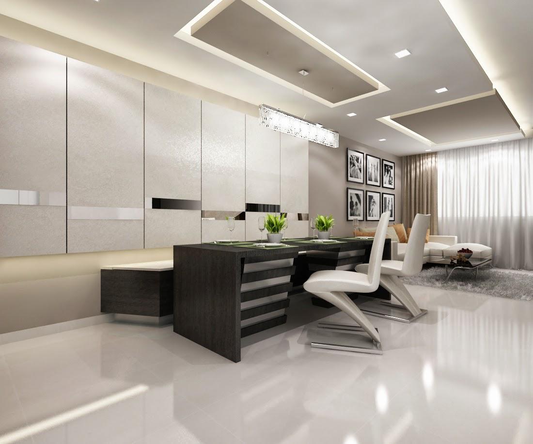 Interior design guide hdb 4 rooms bto modern contemporary - Picture of interior design living room ...