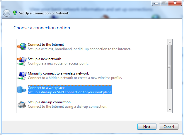 How to create a vpn client