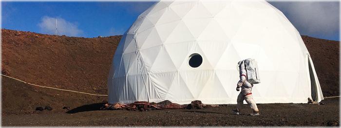 simulação marciana - conheça o interior de uma base em Marte