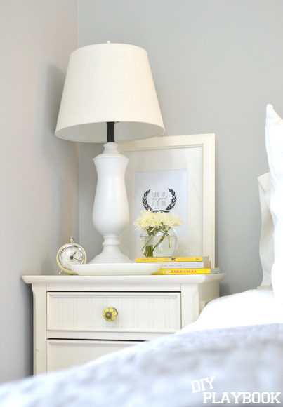 styling a nighstand