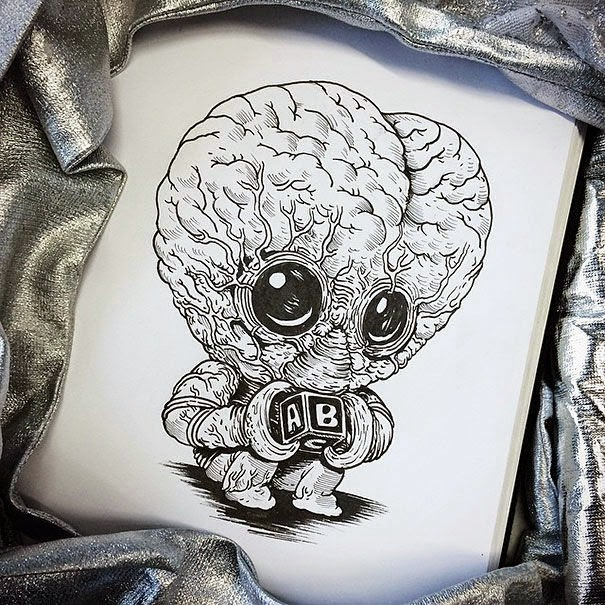27-Meta-Luna-Alex-Solis-Baby-Terrors-Drawings-Horror-Movie-Villains-www-designstack-co