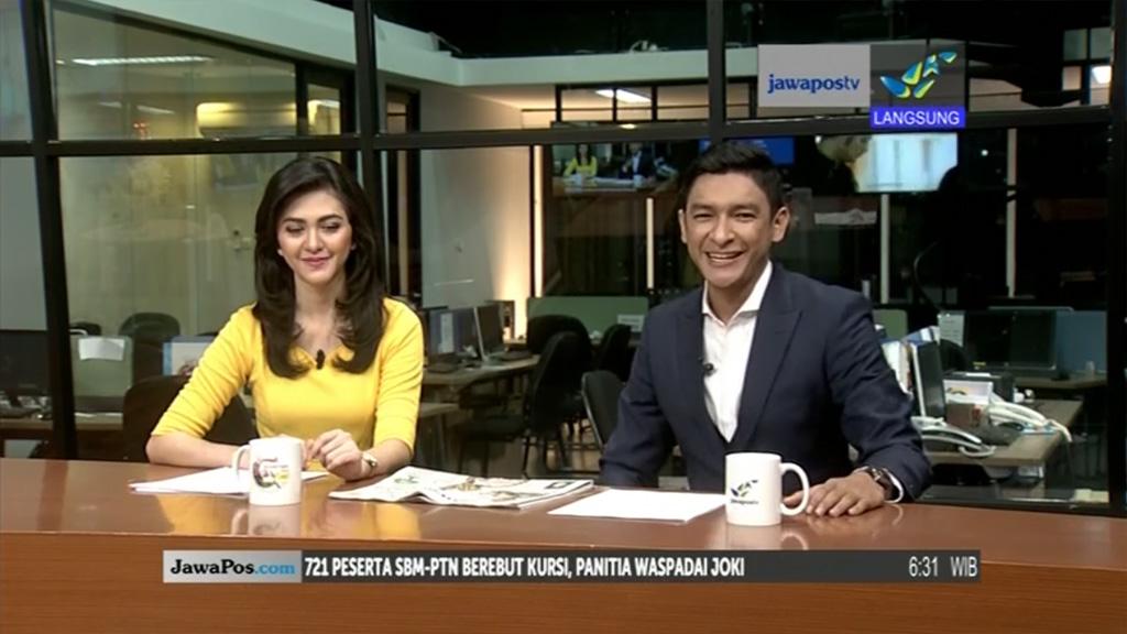 Frekuensi siaran Jawapos TV di satelit Palapa D Terbaru